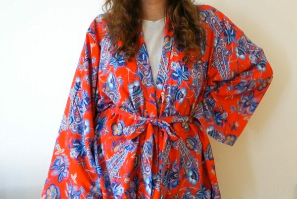 DIY Kimono budgetstoffen