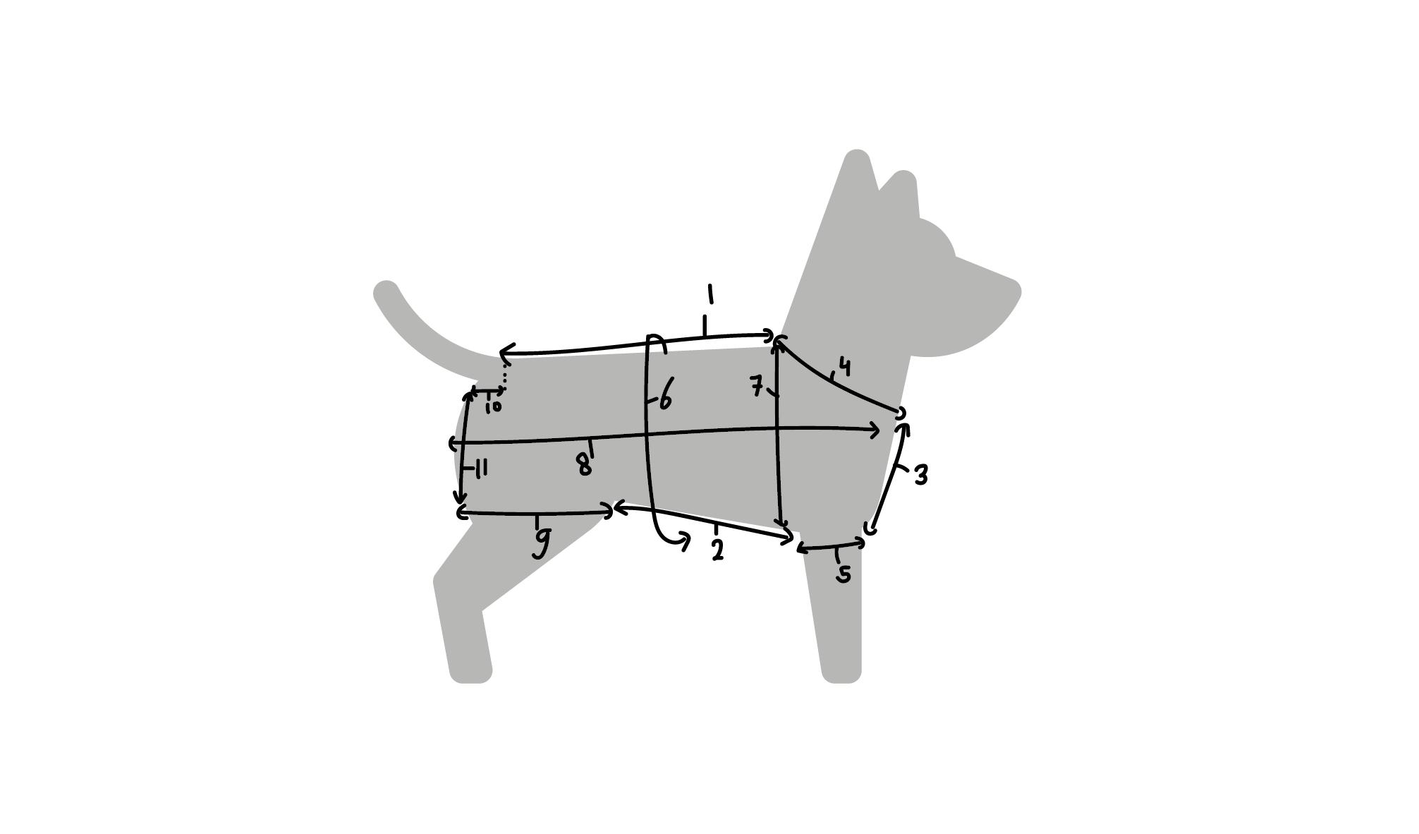 Hondenjasje zelf maken