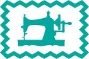 tricot de luxe biaisband oaki doki petrol