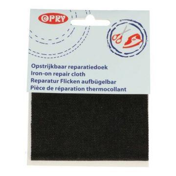 Reparatiedoek Jeans Zwart