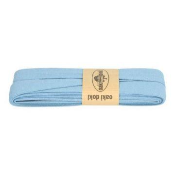 tricot de luxe biaisband oaki doki vintage blauw