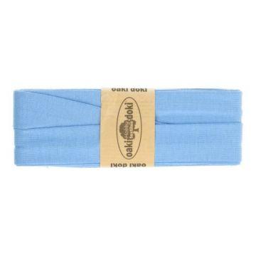tricot de luxe biaisband oaki doki blauw