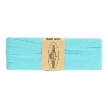 tricot de luxe biaisband oaki doki aqua