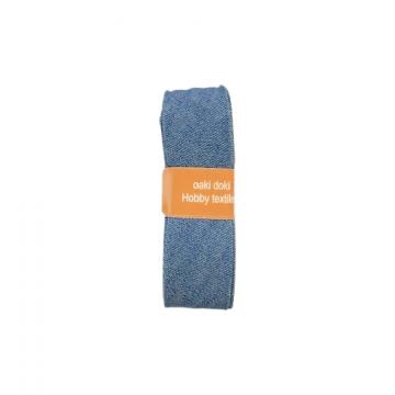 Oaki Doki Biaisband Jeans - Light Blue - 2m