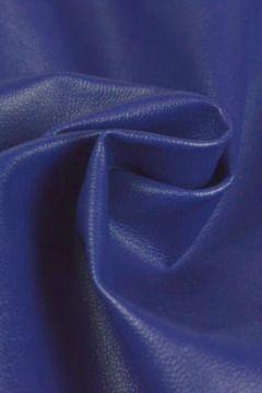 Kunstleer kobalt blauw