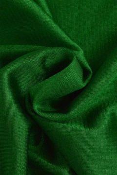 Charmeuse Tricot Voering Donker Groen