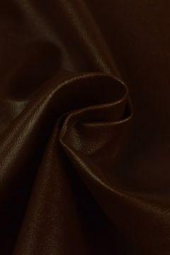 Kunstleer donker bruin