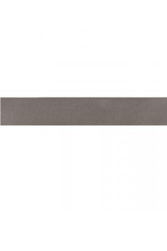kuny dubbel geweven satijn lint donker grijs