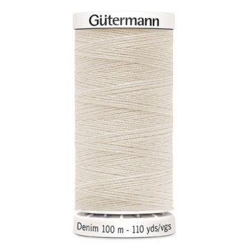 Gütermann Denim-3130 Ecru