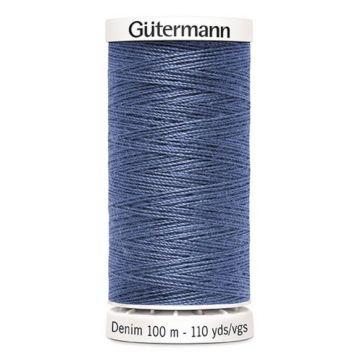 Gütermann Denim-6075 Steelblue