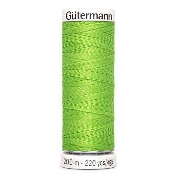 Gütermann 200 meter naaigaren - fel groen