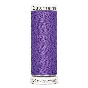 Gütermann 200 meter naaigaren - paars