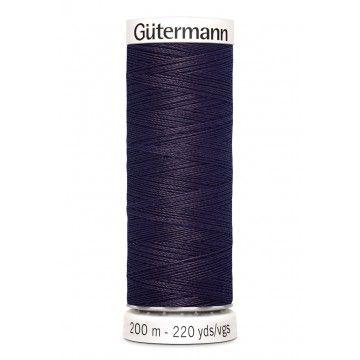 Gütermann 200 meter naaigaren - donker paars