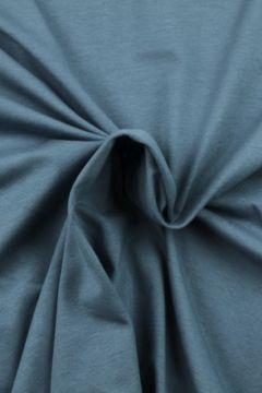 Katoenen Tricot Staalblauw - 138