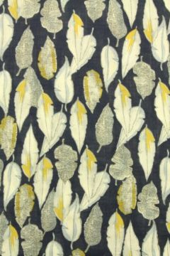 Cotton Viscose - Summer Feathers