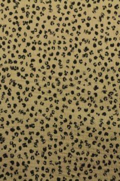 Hydrofiel Stof - Spots Taupe