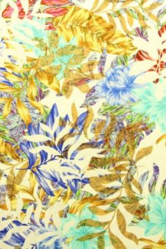 Viscose Tricot - Leaves for Summer