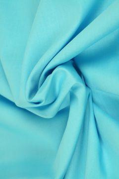 Aqua Blauwe Katoen
