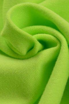 katoenen tricot lime groen
