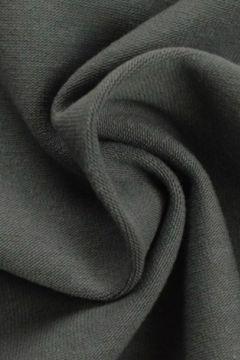 katoenen tricot donker grijs
