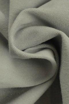 katoenen tricot licht grijs