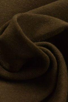 katoenen tricot jersey bruin