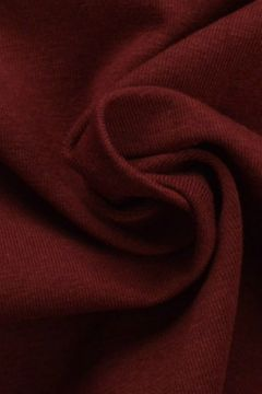 katoenen tricot jersey bordeaux rood