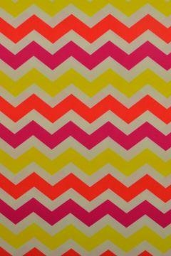 lycra met een zomers gekleurde print
