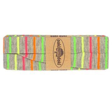 oaki doki neon stripes