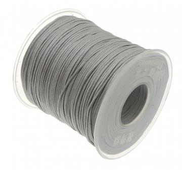 satijn speenkoord 1mm zilver