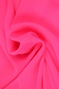 Neon Roze Chiffon