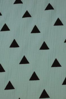 Hydrofiel Doek Driehoek Blue
