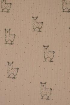 Hydrofiel Doek Alpaca Roze