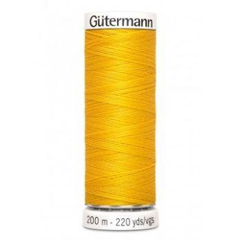 Gütermann 200 meter naaigaren - geel