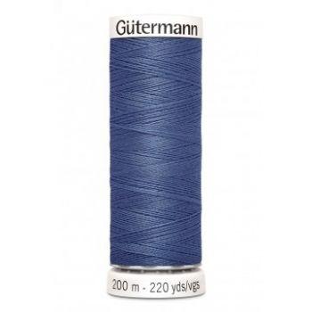 Gütermann 200 meter naaigaren - donker jeans blauw