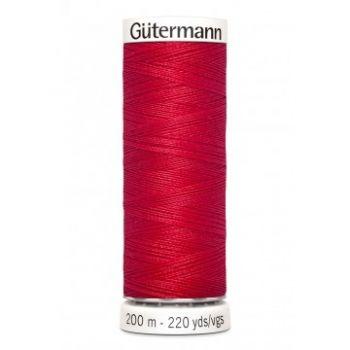 Gütermann 200 meter naaigaren - rood