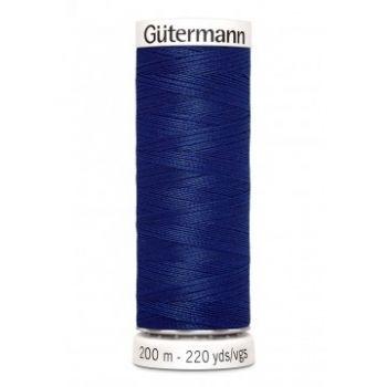 Gütermann 200 meter naaigaren - kobalt