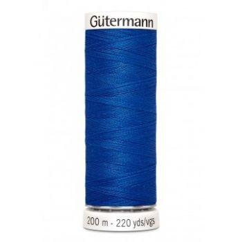 Gütermann 200 meter naaigaren - royal blue