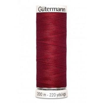 Gütermann 200 meter naaigaren - ruby