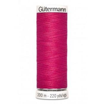 Gütermann 200 meter naaigaren - donker fuchsia