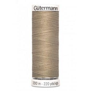 Gütermann 200 meter naaigaren - zand