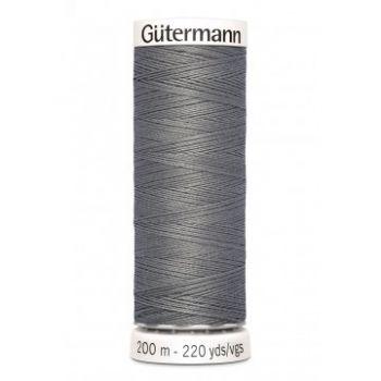 Gütermann 200 meter naaigaren - donker grijs
