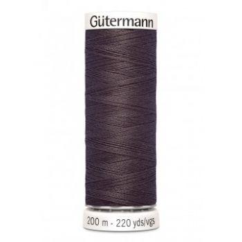Gütermann 200 meter naaigaren - donker bruin