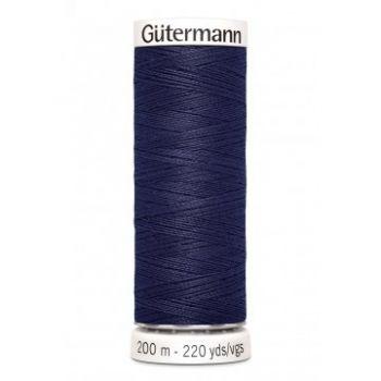 Gütermann 200 meter naaigaren - heel donker paars