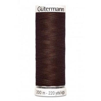 Gütermann 200 meter naaigaren - herfst bruin