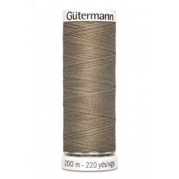 Gütermann 200 meter naaigaren - zacht taupe