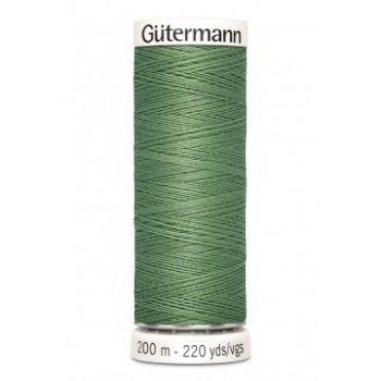 Gütermann 200 meter naaigaren - vintage groen