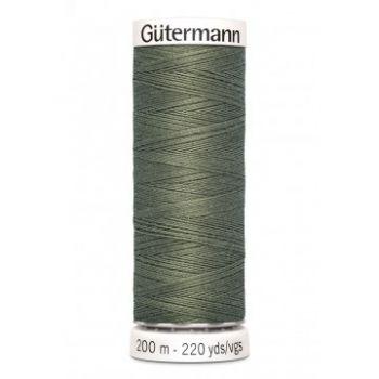 Gütermann 200 meter naaigaren - kaki groen