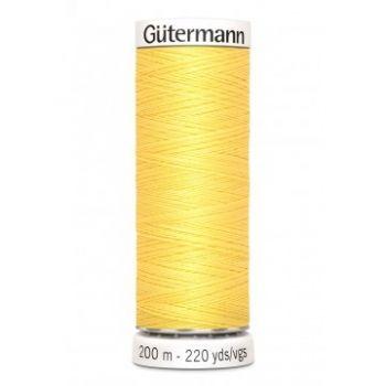 Gütermann 200 meter naaigaren - zacht geel