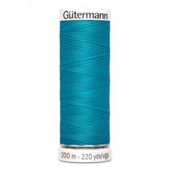 Gütermann 200 meter naaigaren - petrol bauw
